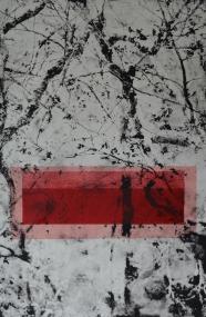 As it is, 38 x 23 cm, kopiografiikka ja monotypia, 2016