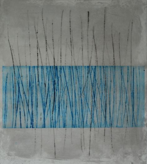 The way up, 30 x 20 cm, kuivaneula ja monotypia, 2016